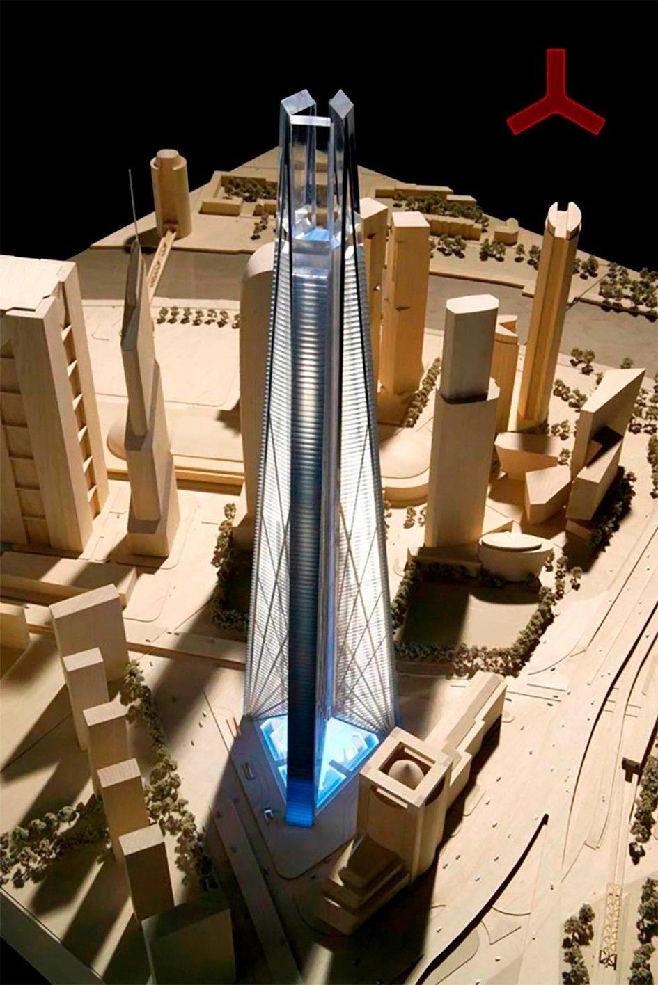"""Нереализованный проект - Башня РоссияЕще в 1994 году в Москве планировалось начать строительство самого высокого небоскреба в мире. Для проектирования этого грандиозного сооружения был приглашен известный британский архитектор Норман Фостер. По одному из предложенных им вариантов, высота башни должна была быть 1000 м. Для сравнения самый высокий небоскреб в мире - Бурдж Халифа в Дубае, построенный в 2010 году - имеет высоту 828 метров.Но тогдашнему мэру Москвы Юрию Лужкову идея с километровой башней пришлась не по вкусу, и высоту здания пришлось уменьшить до 612 м и ограничиться меньшей этажностью. Даже в таком урезанном виде проект на 71 метр превосходил Останкинскую телебашню и становился в то время вторым по высоте в мире и первым в Европе.Предполагалось разместить в башне 101 лифт и подземную парковку на 3680 автомобилей. После многолетней волокиты и многократных согласований, в 2006 году в Москве, в Пушкинском музее состоялась выставка архитектурных макетов башни «Россия» Нормана Фостера. А в 2007 году на месте 17-18 участков в деловом центре «Москва-Сити» наконец-то началось возведение это грандиозного сооружения.Однако дело не заладилось с самого начала, уже через год был исключён прежний инвестор, и строительство объекта было приостановлено. Из работ была сделана лишь часть """"стены в грунте"""".В связи с экономическим кризисом и реальной невозможностью финансирования проекта на закрытом заседании у мэра Москвы была высказана идея уменьшить высоту башни с запланированных ранее 612 до 200 метров, а в 2009 году власти Москвы отказались от возведения башни «Россия». На этом месте планировалось построить автомобильную стоянку.#нобоскребы #россия"""