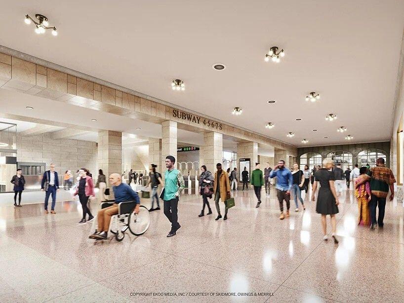 """SOM проектирует новый 500-метровый небоскреб с изогнутыми колоннамиСтудия SOM представила визуализации проектируемого небоскреба """"175 Park Avenue"""" в Нью Йорке. Новое здание будет иметь высоту 502 метра и насчитывать 83 этажа. Башня будет располагаться рядом с вокзалом Grand Central в окружении достопримечательностей Нью-Йорка. В настоящее время это место занимает отель Grand Hyatt, принадлежащий Дональду Трампу, который предполагается снести.Площадь нового здания составит почти 200 000 квадратных метров, на которых разместятся офисы, коммерческие центры и обновленный отель Hyatt на 500 номеров. Подземные уровни и цокольный этаж займут торговые центры и фуд-корты.Здание будет иметь впечатляющий внешний каркас, колонны которого будут собираться в """"пучки"""" у основания. Горизонтальные архитектурные элементы небоскреба в нижней части будут соответствовать линиям карниза расположенного рядом здания вокзала Grand Central. В верхней части здания колонны будут сливаться в округлый венец.Проект также затронет инфраструктуру вокзала и станции метро, и оптимизирует структуру пассажиропотока между транспортными терминалами при помощи нового транзитного зала и благоустроенного наружного пешеходного пространства площадью 2500 квадратных метров.Открытие нового небоскреба запланировано на 2030 год.#небоскребы #сша"""