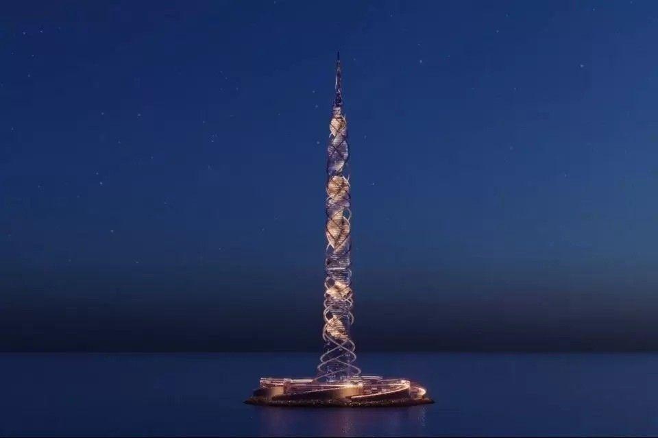 """Второе по высоте здание в мире планируют возвести в Санкт-Петербурге25 мая 2021 года на межведомственном совете по реализации соглашения о сотрудничестве между Санкт-Петербургом и «Газпромом» была представлена архитектурная концепция нового небоскреба. Концепция башни разработана шотландской архитектурной студией Kettle Collective. 703-метровое здание """"Лахта-центр II"""" должно стать вторым по высоте в мире после 828-метровой башни Бурдж-Халифа в Дубае.Основатель Kettle Collective Тони Кеттл ранее являлся одним из директоров международной компании RMJM концепция которой легла в основу 462-метрового Лахта-центра. Рабочие чертежи Лахта-центра разработаны российской компанией """"Горпроект"""".Согласно представленной визуализации, здание """"Лахта-центр II"""" будет иметь закрученную форму, а его фасады будут полностью остеклены. Такая форма позволит в некоторой степени компенсировать значительные ветровые нагрузки. Также здание будет иметь внешний каркас, спиральной формы, что позволит сделать планировки помещений максимально свободными.На визуализации здание расположено на искусственном острове, в Балтийском море, однако точное местоположение пока не определено. По информации Газпрома, земельный участок под строительство башни будет определен несколько позднее. Рассматривается площадка в непосредственной близости от первой башни Газпрома.#небоскребы #россия"""