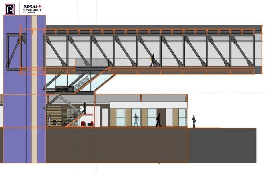 Консольное здание строительной компании LamarОфис строительной компании Lamar, возведенный в 2007 году в штате Mичиган, США, по проекту Integrated Architecture - отличная реклама собственной деятельности. Конструкция словно парит над складскими и коммерческими площадями, нарушая законы гравитации.В основе сооружения - две консольные металлические фермы высотой 5 м и длиной 34 м, зафиксированные на вертикальной железобетонной башне. Фермы являются не только основой конструктивной схемы здания, но и определяют его внутреннюю архитектуру, разделяя пространство на функциональные зоны (рабочая зона, проходы и лестничные подъемы).Один из ключевых моментов и особенностей этого проекта - корректное восприятие конструкциями сооружения динамических нагрузок от перемещения персонала. Замеры фактических показателей вибрации конструкций после ввода сооружения в эксплуатацию, подтверждают высокий уровень комфорта персонала, пребывающего внутри.Источник: ИК Город-А#консоли