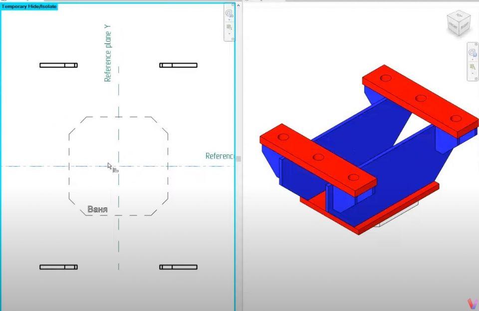 Новые видеоролики, посвященные работе в Autodesk RevitЖесткий узел в Autodesk Revit. Моделируем жесткий узел колонны с траверсами. Создадим семейство типовой модели на основе грани. Подгрузим подготовленные детали (https://youtu.be/tzNGLpQ-FGM)Анкерная опора в Autodesk Revit. Один из мини-роликов с тематикой металлоконструкции в Autodesk Revit. В видео используем подготовленные шаблоны и семейства металлопроката для моделирования анкерной опоры (https://youtu.be/edRNXIPQ_LE)#видео  #bim