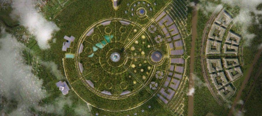 ГРАДОСТРОИТЕЛЬНЫЕ КОНЦЕПЦИИ. ЭКОПОЛИС От концепции города-сада к концепции экополиса. Разработанная Э. Говардом в конце XIX в. концепция городов-садов получила широкую известность. Большое количество зеленых насаждений создавало качественно иную среду для жизни людей, чем в плотно застроенных традиционных городах той эпохи. Город-сад имел форму круга, разделенного на шесть одинаковых частей широкими радиальными бульварами. Центральная административно-общественная площадь была окружена парком. Внутри кольца жилой застройки располагался зеленый пояс. Выделялась пригородная зона, предназначенная для сельского хозяйства и отдыха населения. Центральный парк и зеленый пояс жилой зоны, связываясь между собой и с пригородной зоной бульварами, образовывали единую систему.С ростом городов появились новые градостроительные концепции, в которых развивались идеи города-сада. В них предлагалось формировать системы озеленения городов в виде непрерывных озелененных пространств (взаимосвязанных между собой парков, бульваров, скверов) или дисперсных (в виде «островков природы» среди застройки).С ростом урбанизации, ухудшением экологической обстановки в городах все более актуальной становится задача перехода к проектированию и развитию городов как экологических систем, преобразования существующих городов в экополисы.Экополис (сок. от экология, экологичный + греч. polls — город) — город, спланированный по законам экологии и гармонично сочетающий достижения цивилизации и близость человека к природе. Идея экополиса является развитием идеи города-сада. В ее основе лежит экологическое мышление, рассматривающее общество и природу в тесном взаимодействии и взаимообусловленности.Концепция экополиса была выдвинута в 1970-х гг. как реакция на высокий уровень загрязнения городской среды, гипертрофированный рост городов, их оторванность от природы. Ее основными положениями являются: - обеспечение здоровых и безопасных условий проживания населения (ликвидация источников загрязнения городской среды