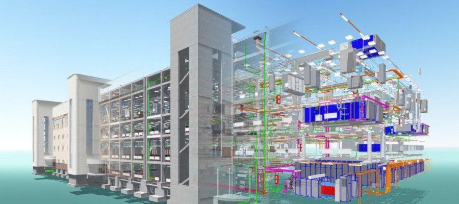 """BIM ТЕХНОЛОГИИ: ЭТАПЫ И ЦЕЛИ МОДЕЛИРОВАНИЯВвиду того, что BIM-моделирование относительно новая технология, не все специалисты до конца понимают его суть. Если не углубляться в детали, то объемное моделирование здания формируется из отдельных """"кубиков"""" информации и включает:1. Конструктивные элементы здания, такие как колонны, стены, фундамент, лестницы, крыши и т.д. Они, в свою очередь, создаются из конструктивных элементов, которые содержатся в базе данных BIM-проекта или формируются архитектором в процессе проектировки.2. Элементы здания — это окна, двери, оборудование, мебель и подобное — создаются на основе стандартной базы данных, которая содержится во всемирной библиотеке в формате IFC, и находятся в открытом доступе. Также проектировщик может разработать свой собственный элемент и включить его при желании в общедоступную базу.Подобный подход позволяет с легкостью сформировать здание (или другой строительный объект) из отдельных элементов стен, выбранных из """"библиотеки"""". К примеру, вы хотите создать модель подвала и первого этажа. Для этого вы выбираете конструктивный элемент под названием """"фундамент"""", к нему добавляете следующий необходимый элемент """"перекрытие"""", а затем — """"стены"""". Таким образом, вы создали фрагмент здания в объемной проекции. При этом, данная модель будет содержать не только линии чертежа, но и полную информацию о стенах, которые вы выбрали: какого они цвета, марки, какой тип наружной облицовки и т.д.По факту, проектируя фрагмент информационной модели здания, вы автоматически получаете план подвала и первого этажа в 2D и в 3D-форматах. Также вы можете сразу увидеть, как будет выглядеть фасад данной части здания и просмотреть его в разрезе. Вам не нужно будет каждый раз поднимать все чертежи проекта в AutoCAD программе, чтобы увидеть, что содержит данный фрагмент здания, потому как каждый элемент, """"кирпичик"""" постройки уже с максимально полной информацией, благодаря чему спецификация объекта происходит мгновенно и автоматически.Работа с BIM-мод"""
