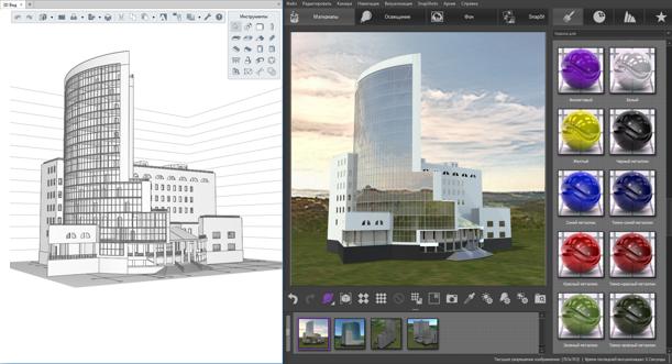 RENGA. BIM-СИСТЕМА ДЛЯ АРХИТЕКТОРАНа начальном этапе проектирования архитектору нужен инструмент, который позволит быстро и просто смоделировать облик будущего здания.Работа в BIM-системе Renga основана на 2-х основных принципах – проектирование в 3D-пространстве (для быстрой и наглядной работы) и простой контекстно-ориентированный интерфейс (для удобного и простого взаимодействия с 3D-моделью). Для более детальной проработки архитектурной модели Renga предоставляет инструменты быстрого создания/редактирования объектов – «Стили», «Сборка» и «Редактор профилей».Буквально за минуту можно создать свой стиль окна или двери, расставить в нем вертикальные и горизонтальные импосты, назначить материал конструкции, определить у створок тип открывания, а также задать размеры рамы, импостов и створок конструкции. Полученный стиль можно назначить проемам любой формы и размеров. В BIM-системе Renga и архитектор, и конструктор, и инженер-проектировщик работают совместно над одной и той же моделью. Каждый участник проекта всегда может увидеть какие изменения сделали его коллеги. Такая работа в коллективе помогает избежать ошибок, связанных с несоответствием архитектурной модели с конструкторской или моделью внутренних инженерных сетей. А также сокращает время на разработку и согласование решений.Для точного подсчета строительных объемов и количества материалов в Renga существует инструмент «Спецификации». Он автоматически собирает данные с объектов 3D-модели и формирует по ним отчеты в табличной форме. При этом спецификации автоматически пересчитываются при изменениях в 3D-модели.Архитектор может сформировать свои собственные спецификации или воспользоваться готовыми шаблонами.Для подготовки презентационных материалов можно выполнить высококачественные фотореалистичные изображения (рендеры) посредством наложения текстур и назначения материалов. Для этого компания PICTOREX Ltd разработала приложение Artisan Rendering, которое можно установить к программе Renga.Помимо этого, в Renga