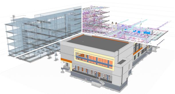 RENGA. BIM-СИСТЕМА ДЛЯ ИНЖЕНЕРА ПО ОТОПЛЕНИЮ✓ Проектирование системы отопленияВ Renga можно создавать информационные модели систем отопления и сетей индивидуальных тепловых пунктов (ИТП) зданий и сооружений различного назначения. Инструменты Renga позволяют максимально автоматизировать действия инженера в процессе прокладки трасс подающих и обратных трубопроводов, при наполнении модели инженерными данными по соответствующим разделам и получении чертежной документации.✓ Сбор и получение данныхПроектирование системы отопления и тепловых сетей ИТП в Renga предусматривает 2 сценария работы.В первом, профильный специалист получает трехмерную модель от архитектора или конструктора и начинает свою работу по моделированию соответствующего раздела. В комплексной архитектурно-строительной системе Renga реализован механизм совместной работы. Программа позволяет инженерам по отоплению вести параллельную работу над проектом с архитекторами и конструкторам. Участники проекта работают с актуальной информацией по 3D-модели, вовремя согласовывая принимаемые решения между собой.✓ Определение нагрузокИнформационная модель позволяет профильным специалистам вносить все необходимые данные по каждому элементу здания для того, чтобы в дальнейшем их смогли использовать все участники проекта. Таким образом, специалисты по системам отопления имеют возможность незамедлительно получить требуемую информацию о назначениях и габаритах помещений, наружных и внутренних ограждающих конструкциях, используемых материалах, положению шахт для инженерных коммуникаций и многое другое. На основании полученных данных выявляются потребности различных помещений здания в системах отопления, а также выполняются инженерные расчёты, например, определение тепловой нагрузки.✓ Расстановка оборудованияВ соответствии с выявленными потребностями различных помещений здания в системах отопления инженеры осуществляют подбор и расстановку оборудования по всей модели проектируемого объекта. Одним из преимуществ Renga являетс