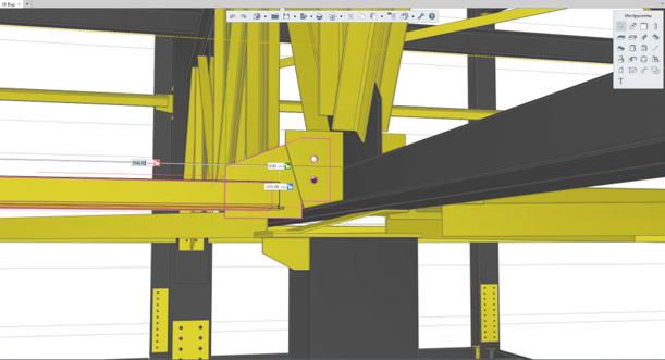 RENGA. BIM-СИСТЕМА ДЛЯ КОНСТРУКТОРА🗸 Автоматическое армированиеДля разработки ж/б конструкций в Renga предусмотрены мощные инструменты для армирования объектов в 3D. Функция автоматического армирования существенно ускорит процесс раскладки арматуры в монолитных ж/б элементах и позволит быстро и легко получить чертежи заармированных конструкций. Помимо армирования объектов в программе предусмотрено автоматическое усиление арматурными стержнями отверстий и проемов в перекрытиях и стенах. Причем усиление привязано к проему/отверстию и перемещается вместе с ним.🗸 Проектирование металлоконструкцийИспользуя функциональность Renga, Вы сможете спроектировать металлоконструкции зданий и сооружений различного уровня сложности. Инструмент «Сборка» позволит создать отправочные марки ферм, колон, связей и т.д. и применять их в разработке конструктивных схем зданий и сооружений. А удобные 3D-привязки и трехмерные режимы измерения существенно увеличат точность и ускорят процесс позиционирования конструктивных элементов относительно друг друга. Редактор профилей избавит вас от необходимости искать нестандартные сечения конструктивных объектов на различных ресурсах. Вы сможете за считанные минуты создавать любые профили металлоконструкций и использовать их в своих проектах.🗸 Эффективное взаимодействие конструкторов с другими участниками проектаСовместная работа в системе Renga позволяет конструктору работать с одной 3D-моделью параллельно с архитекторами и инженерами по внутренним системам. Такой способ работы позволяет значительно ускорить разработку информационной модели с последующим получением проектной и рабочей документации. Теперь конструкторы могут постоянно работать с актуальной 3D-моделью, избегая возможности возникновения конфликтов при принятии проектных решений.🗸 Автоматическое получение спецификацийПреимуществом отечественной BIM-системы Renga является автоматическое получение всех спецификаций. Создавая информационную модель конструктивной части здания, конструктор за