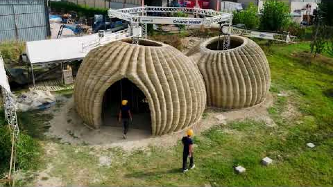 Eco-sustainable 3D printed house - Tecla