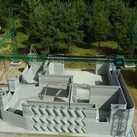 Под Ярославлем строят поселок из 12 домов по технологии 3D печати