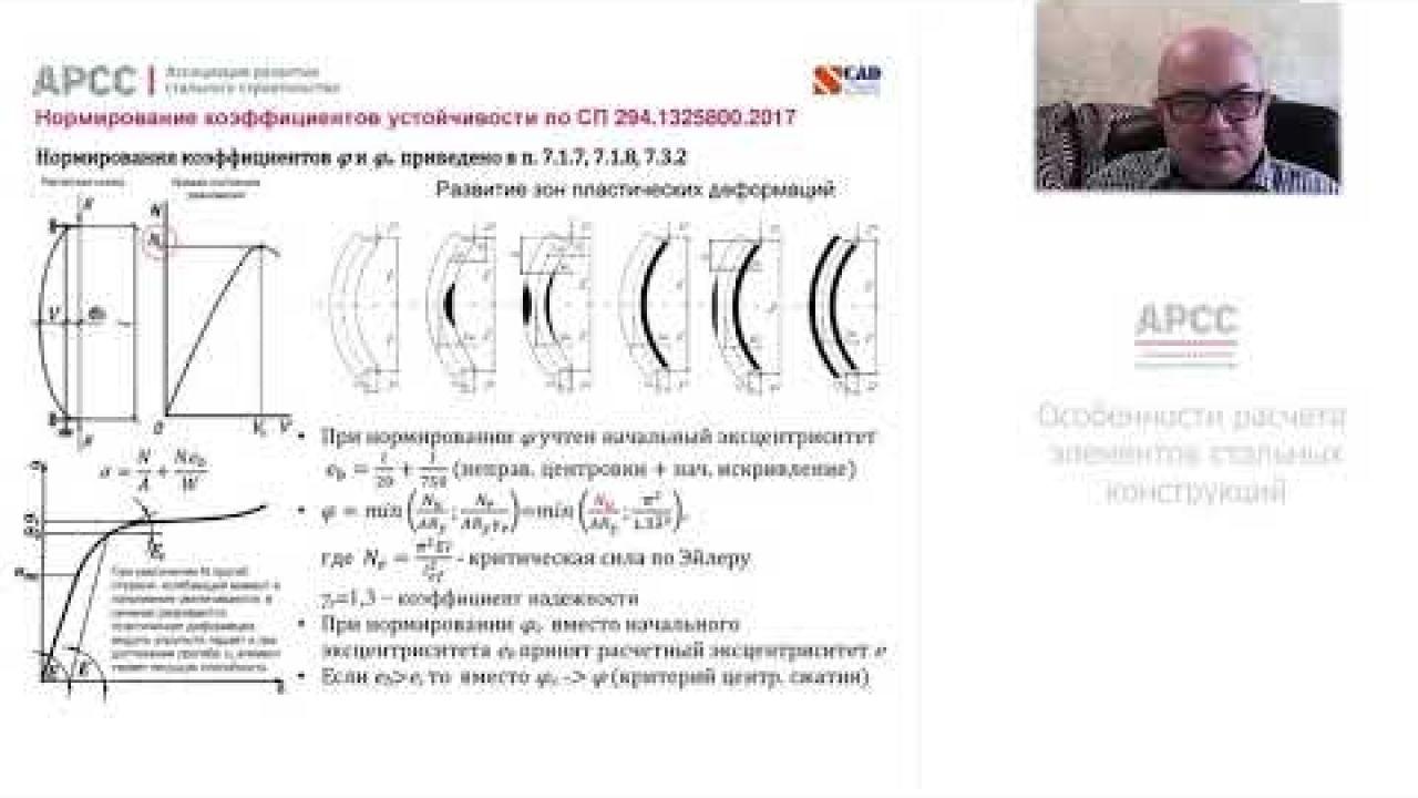 Особенности расчета элементов стальных конструкций